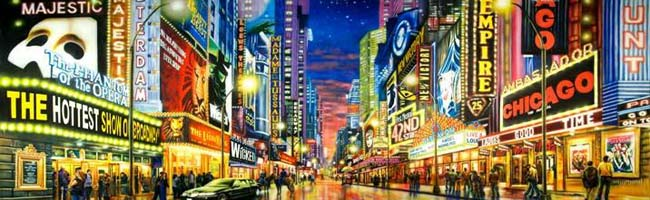 New York City Broadway Theaters